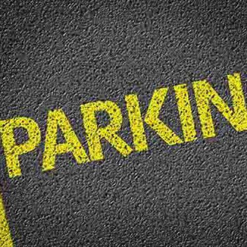 parcheggio-scritta gialla